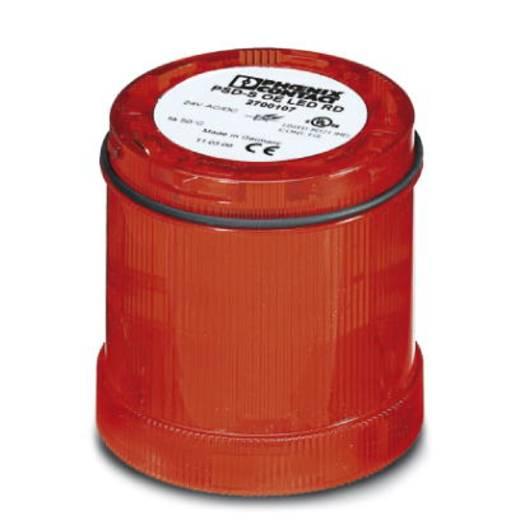 SPS-Dauerlichtelements Phoenix Contact PSD-S OE LED RD 2700107 24 V/DC, 24 V/AC