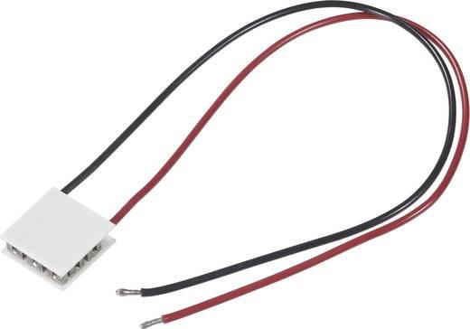 Peltier-Element 15.4 V 4.6 A 41 W (L x B x H) 40 x 40 x 4 mm TRU COMPONENTS 12705