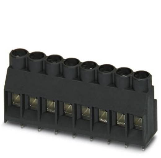 Schraubklemmblock 4.00 mm² Polzahl 8 MKDS 5/ 8-6,35 BK Z1L Phoenix Contact Schwarz 50 St.