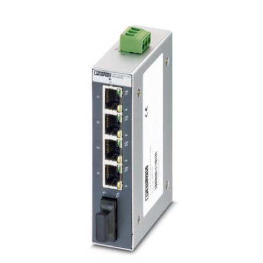 Phoenix Contact Industrial Ethernet Switch FL SWITCH SFNB 4TX/FX SM20 Anzahl LWL Ports: 1 Anzahl Ethernet Ports: 4