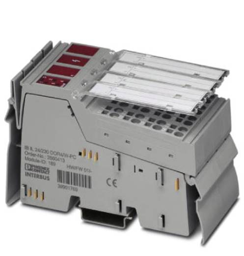 SPS-Erweiterungsmodul Phoenix Contact IB IL 24/230 DOR4/W-PC-PAC 2862181 24 V/DC
