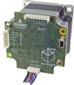 Krokový motor s řízením PANdrive Trinamic PD60-4-1161 (30-0179), Ø hřídele 8 mm