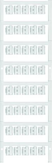 Zeichenträger Montage-Art: aufclipsen Beschriftungsfläche: 21 x 4.10 mm Passend für Serie Einzeldrähte Atoll-Blau Weidmü