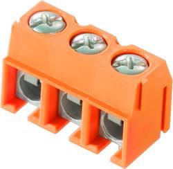 Bornier à vis Weidmüller PM 5.00/02/90 3.5SN OR BX 1791610000 2.50 mm² Nombre total de pôles 2 orange 500 pc(s)