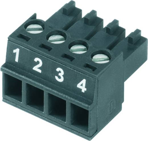 Buchsengehäuse-Kabel BC/SC Polzahl Gesamt 4 Weidmüller 1792790000 Rastermaß: 3.81 mm 50 St.