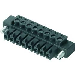 Zásuvkové púzdro na kábel Weidmüller BCZ 3.81/04/180F SN GN BX 1793060000, 25.66 mm, pólů 4, rozteč 3.81 mm, 50 ks