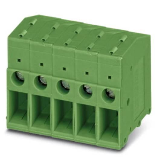 Schraubklemmblock 6.00 mm² Polzahl 1 FRONT 4-H-7,62 Phoenix Contact Grün 50 St.