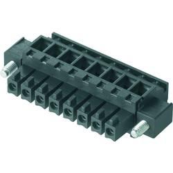 Zásuvkové púzdro na kábel Weidmüller BCZ 3.81/04/90F SN GN BX 1798870000, 25.66 mm, pólů 4, rozteč 3.81 mm, 50 ks