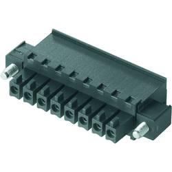 Zásuvkové púzdro na kábel Weidmüller BCZ 3.81/04/270F SN GN BX 1799190000, 25.66 mm, pólů 4, rozteč 3.81 mm, 50 ks