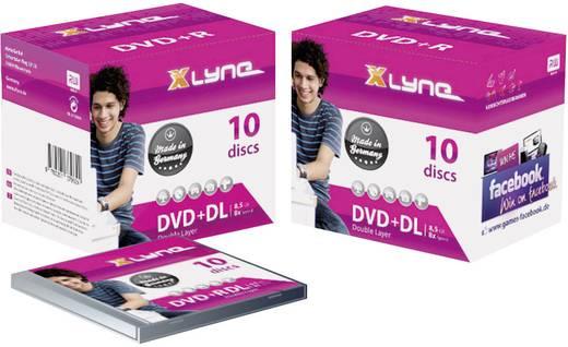 DVD+R DL Rohling 8.5 GB Xlyne 4J10000 10 St. Jewelcase