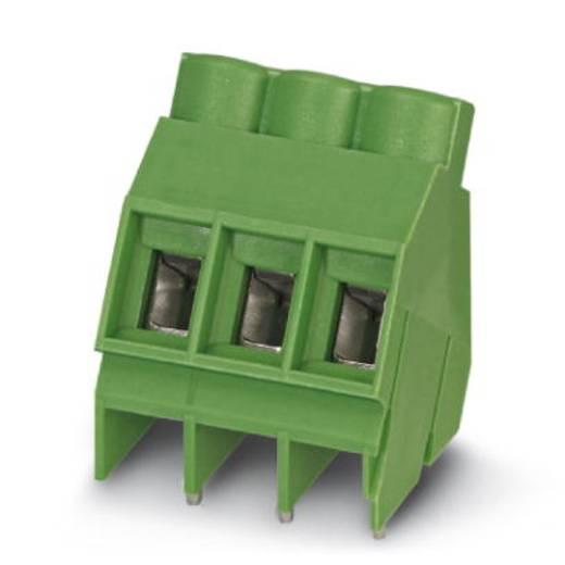 Schraubklemmblock 4.00 mm² Polzahl 3 SMKDS 5/ 3-6,35 Phoenix Contact Grün 50 St.