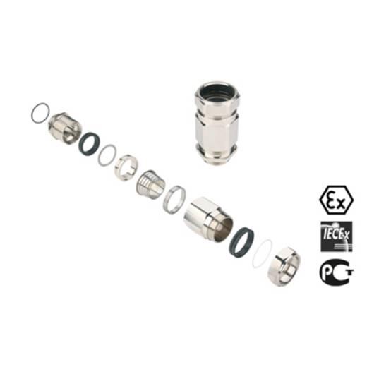 Kabelverschraubung M50 Messing Messing Weidmüller KDSU M50 BN O SC 2 G50 1 St.