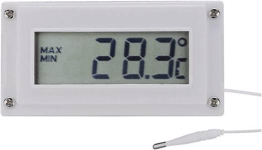Digitales Einbaumessgerät VOLTCRAFT LCD-Temperatur-Schalt- und Uhrenmodul