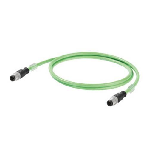 Sensor-/Aktor-Datensteckverbinder, konfektioniert Stecker, gerade Weidmüller 1102190015 IE-C5DS4VG0015MCSMCS-E 1 St.