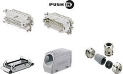Kit connecteur RockStar® HDC HE Weidmüller HDC KIT HE-P 16,120 1027640000 Nbr total de pôles 1 + PE 1 pc(s)