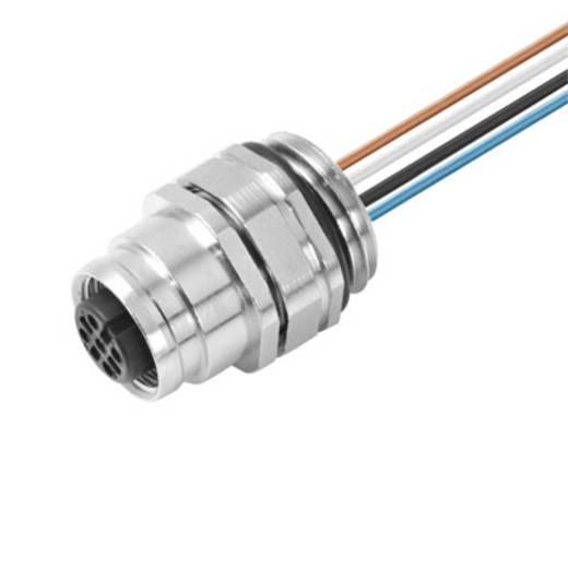 Einbaustecker SAIE-M12B-8-0.5U-FP-M16 Weidmüller Inhalt: 1 St.