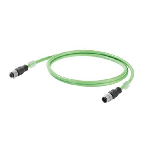 Weidmüller 1059330100 Sensor-/Aktor-Datensteckverbinder, konfektioniert M12 Stecker, gerade, Buchse, gerade 1 St.