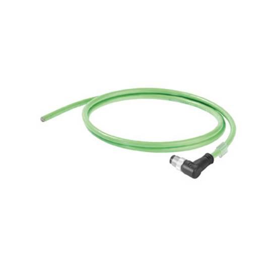 Sensor-/Aktor-Datensteckverbinder, konfektioniert M12 Stecker, gewinkelt Weidmüller 1059750100 IE-C5DD4UG0100MCAXXX-X