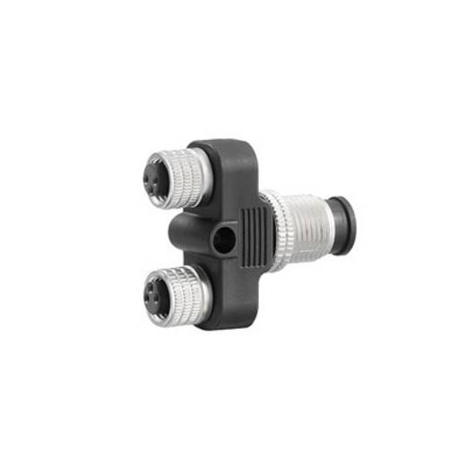 Sensor-/Aktorsteckverbinder Y-Verteiler SAI-Y-4-4/2-4 M12/8 Weidmüller Inhalt: 1 St.