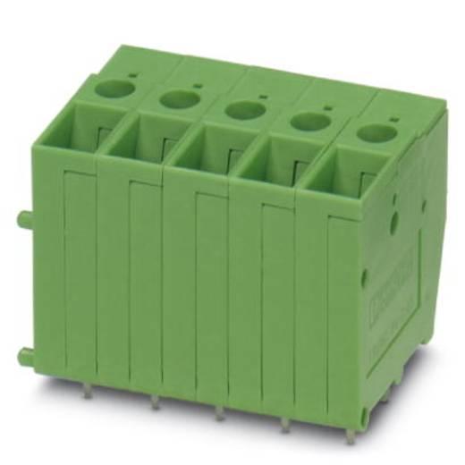 Schraubklemmblock 6.00 mm² Polzahl 1 FRONT 4-V-7,62 Phoenix Contact Grün 50 St.