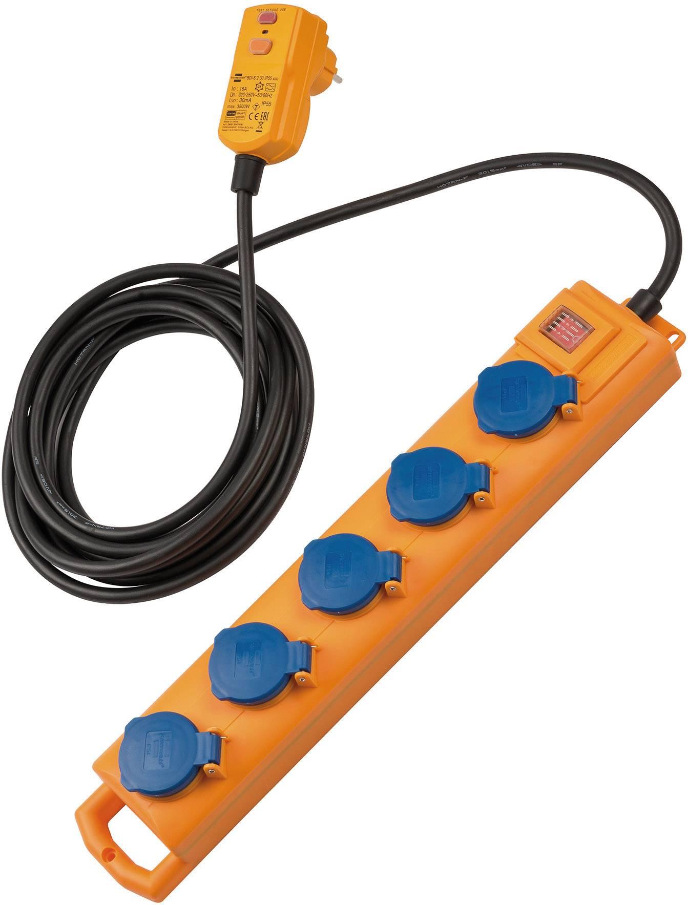 Berühmt Brennenstuhl 1159900805 Steckdosenleiste mit Schalter 5fach Gelb KM02