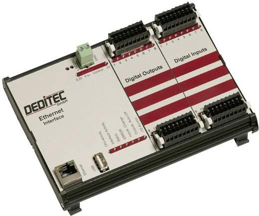I/O-Modul Deditec RO-ETH-O16-R16 Ethernet Anzahl digitale Ausgänge: 16 Anzahl digitale Eingänge: 16