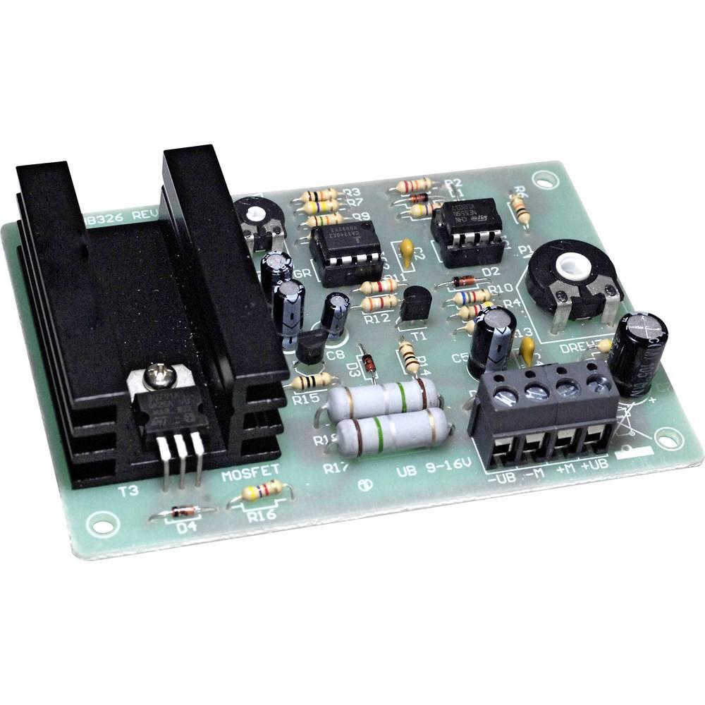 r gulateur de vitesse dc kit monter conrad components 196460 9 16 v dc puissance de sortie 5. Black Bedroom Furniture Sets. Home Design Ideas