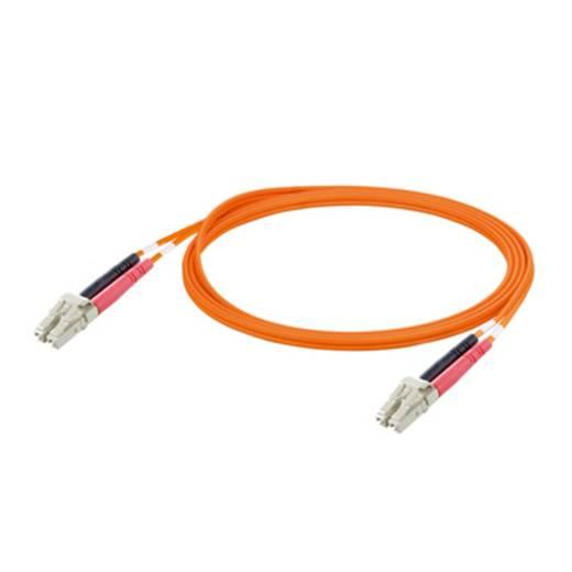 Glasfaser LWL Anschlusskabel [1x LC-Stecker - 1x LC-Stecker] 50/125µ Multimode OM2 5 m Weidmüller