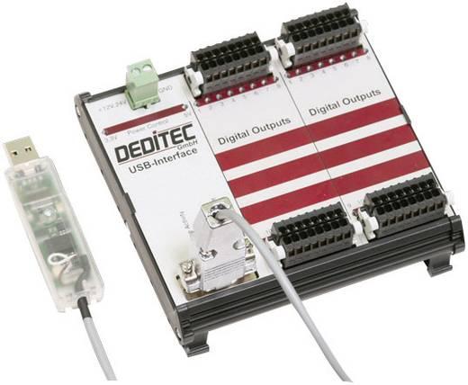 Ausgangsmodul Deditec RO-USB-R32 USB Anzahl digitale Ausgänge: 32 Anzahl digitale Eingänge: 32