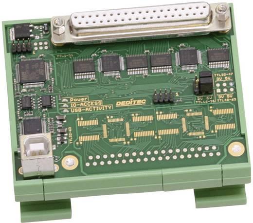 I/O-Modul Deditec USB-TTL-32 USB Anzahl digitale Ausgänge: 32 Anzahl digitale Eingänge: 32