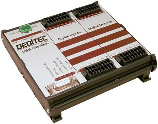 I/O-Modul Deditec RO-USB-O16-R16 USB Anzahl digitale Ausgänge: 16 Anzahl digitale Eingänge: 16