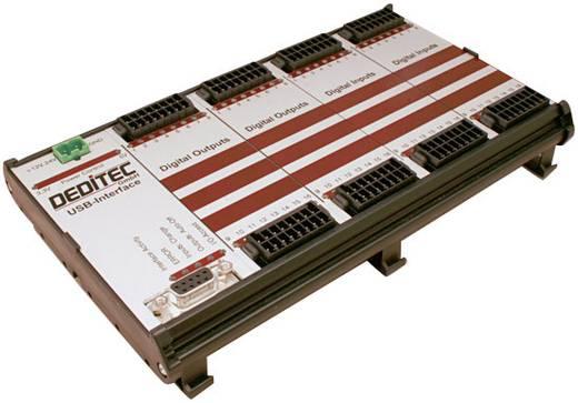 I/O-Modul Deditec RO-USB-O32-R32 USB Anzahl digitale Ausgänge: 32 Anzahl digitale Eingänge: 32