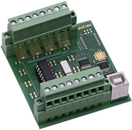 Eingangsmodul Deditec USB-OPTOIN-8_B USB Anzahl digitale Eingänge: 8