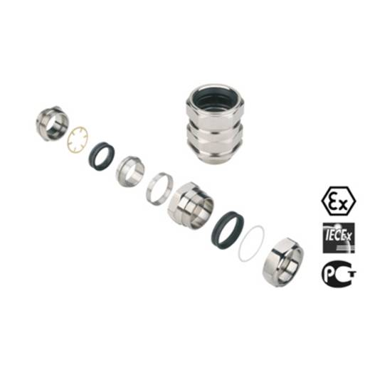 Kabelverschraubung M20 Messing Messing Weidmüller KDSW M20 BN L NI 1 G20S 20 St.