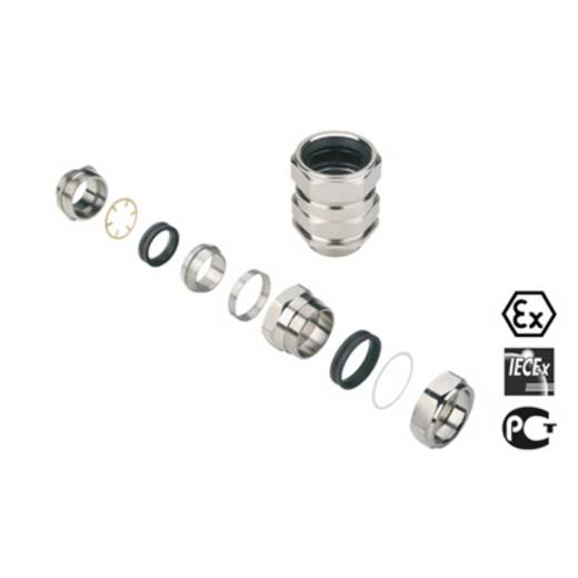 Kabelverschraubung M40 Messing Messing Weidmüller KDSW M40 BS O NI 2 G40 10 St.