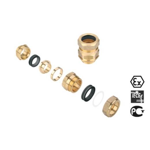 Kabelverschraubung M50 Messing Messing Weidmüller KDSW M50 BN O SC 2 G50S 1 St.