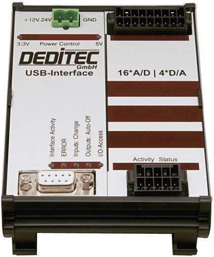 I/O-Modul Deditec RO-USB-AD16_DA4 USB Anzahl analoge Eingänge: 16