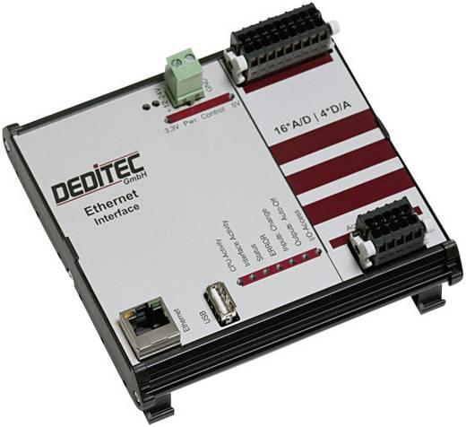 I/O-Modul Deditec RO-ETH-AD16_DA4 Ethernet Anzahl digitale Eingänge: 16