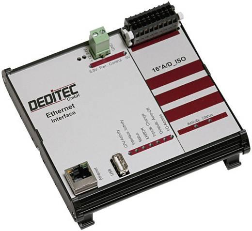 Eingangsmodul Deditec RO-ETH-AD16_ISO Ethernet Anzahl digitale Eingänge: 16