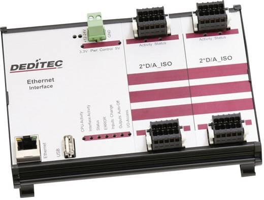 Ausgangsmodul Deditec RO-ETH-DA4_ISO Ethernet