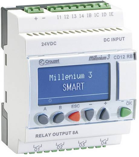 SPS-Steuerungsmodul Crouzet Millenium 3 CD12RBT 24V Smart 88974441 24 V/DC