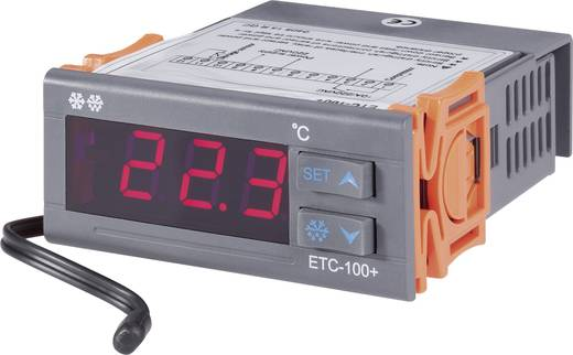 Temperaturregler VOLTCRAFT ETC-100+ NTC10K -40 bis +120 °C Relais 10 A (L x B x H) 88 x 75 x 34.5 mm