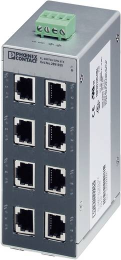 Industrieswitch unmanaged Phoenix Contact FL SWITCH SFN 8TX Anzahl Ethernet Ports 8 LAN-Übertragungsrate 100 MBit/s Betriebsspannung 24 V/DC