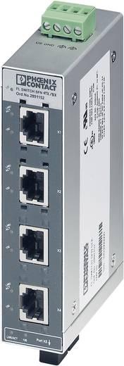 Industrieswitch unmanaged Phoenix Contact FL SWITCH SFN 4TX/FX Anzahl Ethernet Ports 4 1 LAN-Übertragungsrate 100 MBit/s