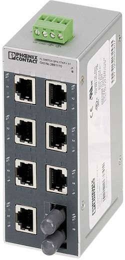 Industrieswitch unmanaged Phoenix Contact FL SWITCH SFN 7TX/FX ST Anzahl Ethernet Ports 7 1 LAN-Übertragungsrate 100 MBit/s Betriebsspannung 24 V/DC