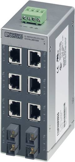 Industrieswitch unmanaged Phoenix Contact FL SWITCH SFN 6TX/2FX Anzahl Ethernet Ports 6 2 LAN-Übertragungsrate 100 MBit/
