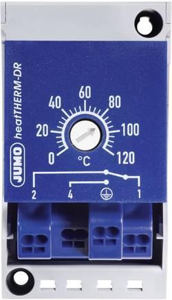 Vestavný termostat na DIN lištu Jumo heatTHERM, 0 až 120 °C, 230 V/AC, 16 A
