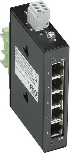 Industrieswitch unmanaged WAGO 5-PORT 100BASE-TX INDUSTR.ECO SWITCH Anzahl Ethernet Ports 5 LAN-Übertragungsrate 100 MB