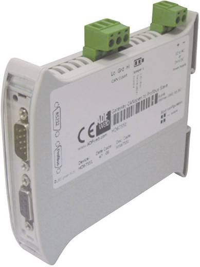 Gateway CAN Bus, Profibus, RS-232 Wachendorff HD67551 24 V/DC