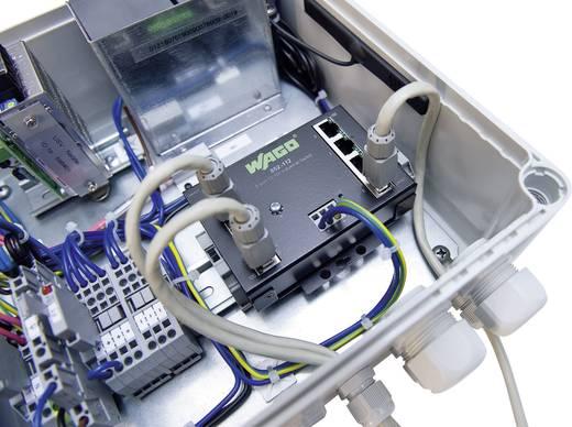 Industrieswitch unmanaged WAGO 8-PORT 100BASE-TX INDUSTR.ECO SWITCH Anzahl Ethernet Ports 8 LAN-Übertragungsrate 100 MBit/s Betriebsspannung 12 V/DC, 24 V/DC